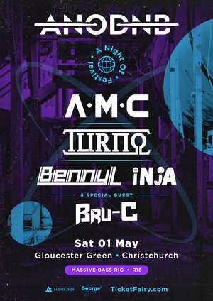 A Night of Drum & Bass Festival | Christchurch
