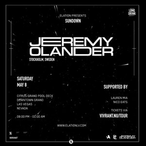 Elation presents Sundown ft. Jeremy Olander & Lauren Mia photo