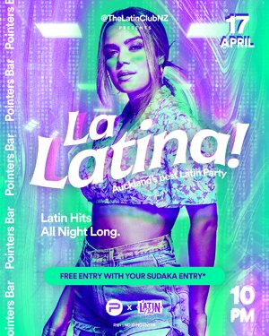 La Latina! by The Latin Club | 17 April at Pointers photo