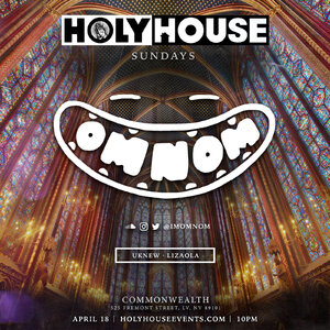 HOLY HOUSE N°70 w/ OMNOM