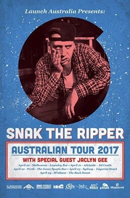 Snak The Ripper - Australian Tour 2017 - BRISBANE photo