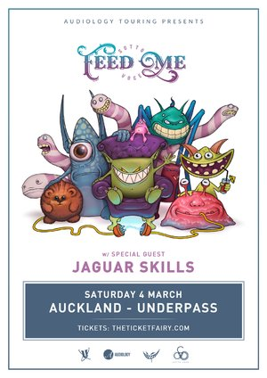 FEED ME + Jaguar Skills (Pop-up show)
