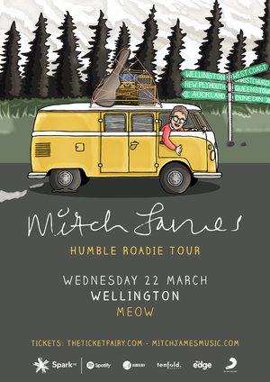 Mitch James - Humble Roadie Tour (Wellington)