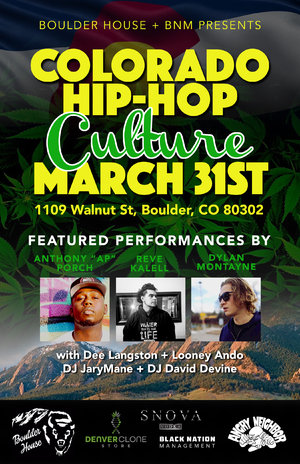 Boulder House + BNM Presents: Colorado Hip-hop Culture photo