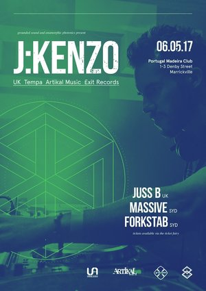 Grounded Presents: J:Kenzo (UK) and Juss B (UK)