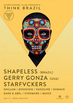 Think Brazil: Shapeless (BRA) / Gerry Gonza (USA) / Starfvckers photo