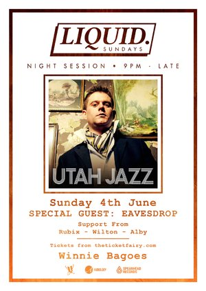 Liquid. Sunday Session ft. UTAH JAZZ (UK) & Eavesdrop photo
