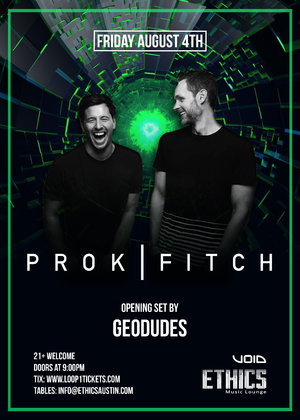 Ethics Presents: Prok and Fitch + Geodudes