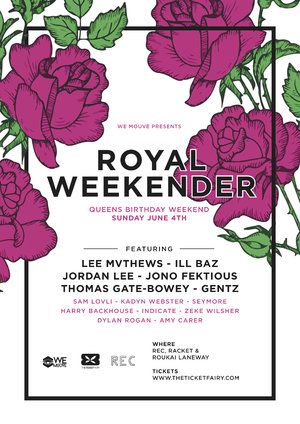 WE MOUVE Presents Royal Weekender
