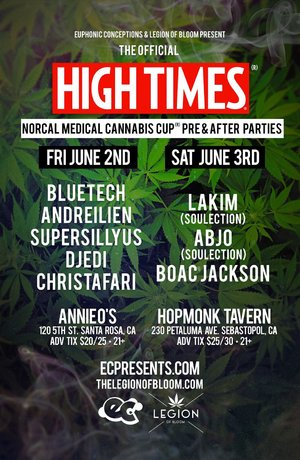 The Official High Times NorCal Medical Cannabis Cub Preparty