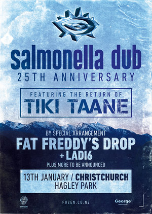 Salmonella Dub 25th Anniversary feat. Tiki Taane - Christchurch photo