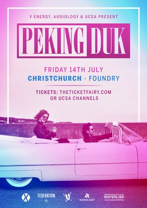 Peking Duk - Christchurch: ReOweek photo