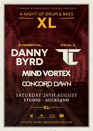 A Night of Drum & Bass XL ft. Danny Byrd, TC, Mind Vortex & more