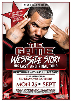 **CANCELLED** - THE GAME WESTSIDE STORY TOUR 2017