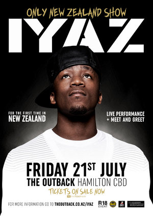 IYAZ Live at The Outback