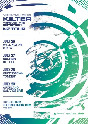 KILTER - Through The Distortion NZ Tour: Dunedin