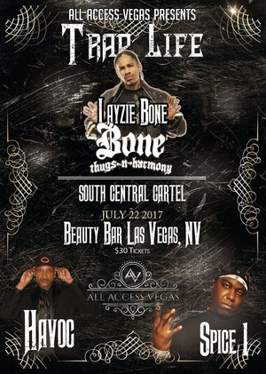 Bone Thugs N Harmony, South Central Cartel, Spice 1 photo