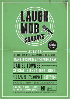 Laugh Mob Sundays feat. Daniel Townes (The Footy Show/MICF)