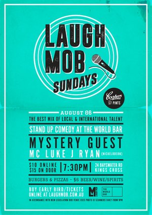 Laugh Mob Sundays feat. Mystery Guest Comedian