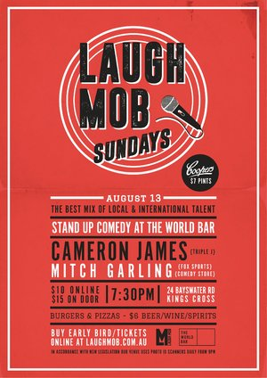 Laugh Mob Sundays feat. Cameron James (Triple J)