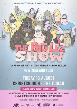 The Big Lez Show NZ Tour - CHCH - 2nd Show photo
