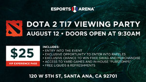 Dota 2: The International 7 Viewing Party