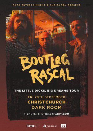 Bootleg Rascal NZ Tour - Christchurch photo