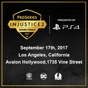 The Injustice 2 Pro Series Grand Finals