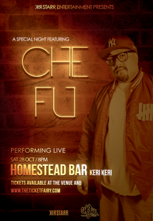 CHE FU LIVE - HOMESTEAD BAR, KERIKERI