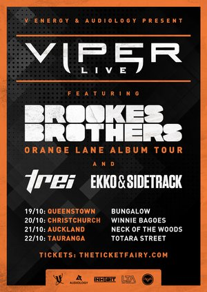 VIPER LIVE ft. Brookes Brothers & more (Auckland)