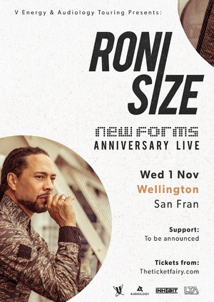 Roni Size - New Forms 20th Anniversary Tour - Wellington photo