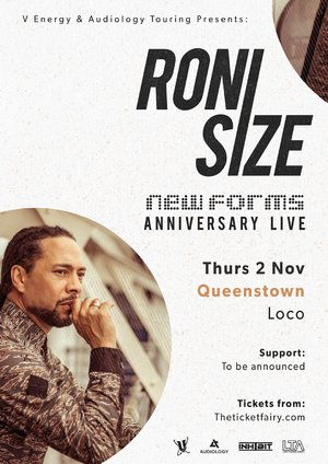 Roni Size - New Forms 20th Anniversary Tour - Queenstown