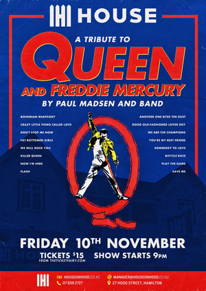 Paul Madsen Queen Tribute at House on Hood