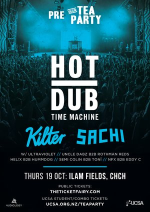 Pre Tea Party Festival ft. Hot Dub Time Machine, Kilter & Sachi photo