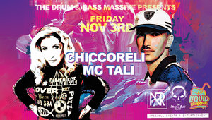 DNB Legends Chiccoreli & MC Tali