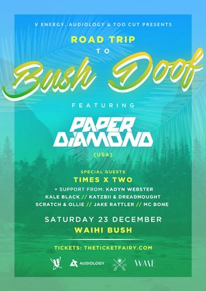 Bush Doof 3.0 ft. Paper Diamond (USA) & more