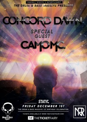 The Drum & Bass Massive 1st birthday Ft: Concord Dawn & Camo MC photo