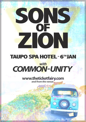 SONS OF ZION - Taupo 6th Jan photo