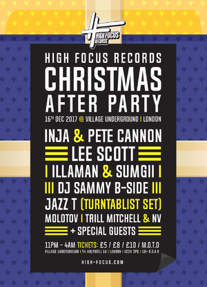 High Focus - London: After Party Ticket