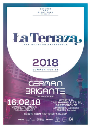 La Terraza ft. German Brigante (ESP) - The Rooftop Experience