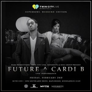 Twin City Live - Super Bowl Weekend Edition: Future & Cardi B photo