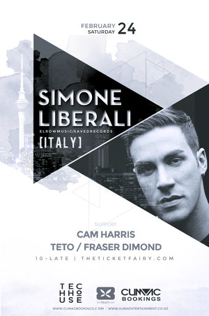 Tech House Sessions - Simone Liberali (ITA) - Auckland