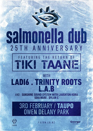 Salmonella Dub 25th Anniversary feat. Tiki Taane - Taupo photo