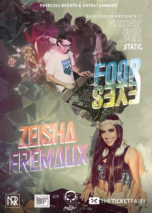 Bass Fusion FT: Zeisha Fremaux & Foor eyes photo