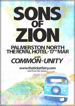 SONS OF ZION - Palmy 17 March