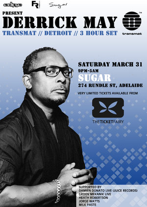 Derrick May - 3 hour set - Transmat - Detroit -Sugar