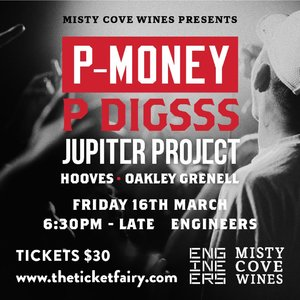 Misty Cove Wines Presents : P-Money and Friends photo
