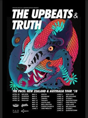 Truth and The Upbeats - The Pack Tour
