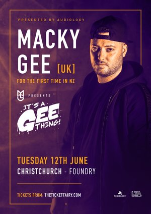 MACKY GEE - Christchurch photo