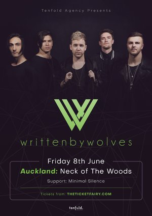 Written By Wolves - Auckland
